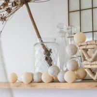 Shell Silver- 20 cottonballs