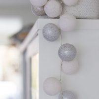 White Silver- 50 cottonballs