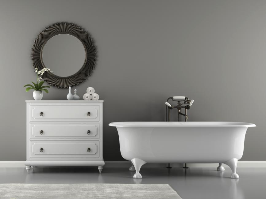 Badkamer met een klassieke uitstraling