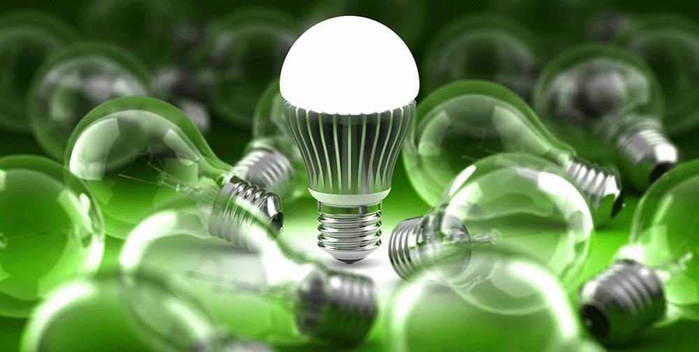 Bedenk je eens hoeveel geld je kunt besparen door het kopen van een goede LED lamp!
