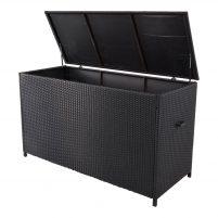 Outdoor Living kussenbox 165x67x95 cm - zwart