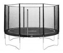 Salta Combo trampoline met veiligheidsnet ⌀427 cm - grijs