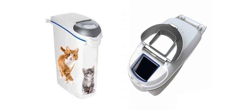 Deze container zorgt ervoor dat je kattengrit stofvrij, vochtvrij en reukloos opbergt.