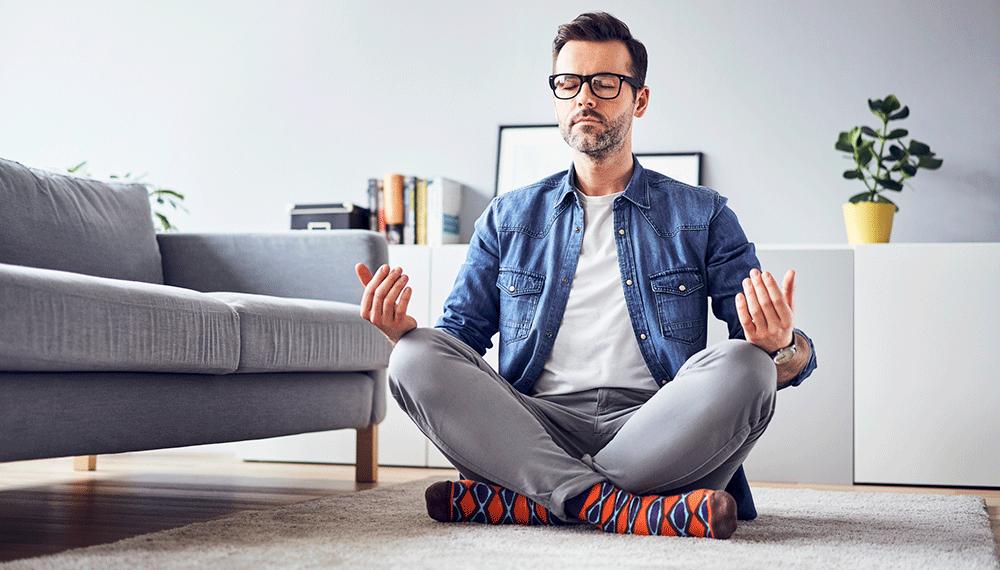 Rust in jezelf zorgt er voor dat je makkelijker het huis opgeruimd en netjes houdt.