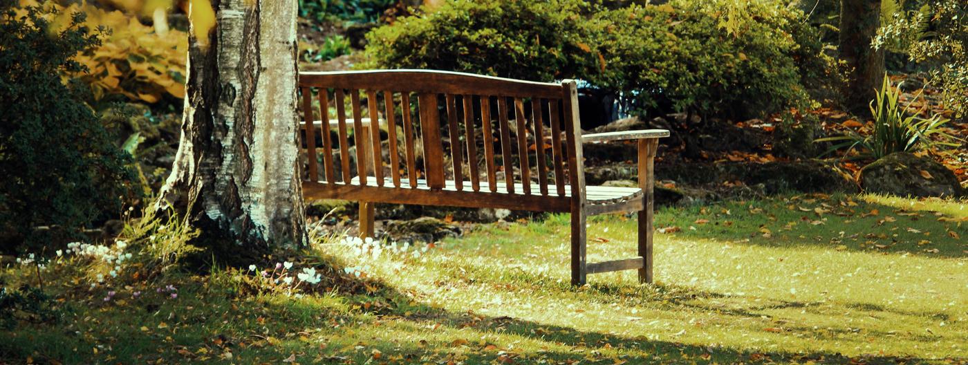 Maak je tuin gezelliger met een houten tuinbank!