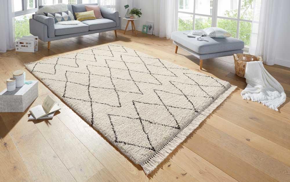 Hanse-Home vloerkleed met een subtiel patroon.