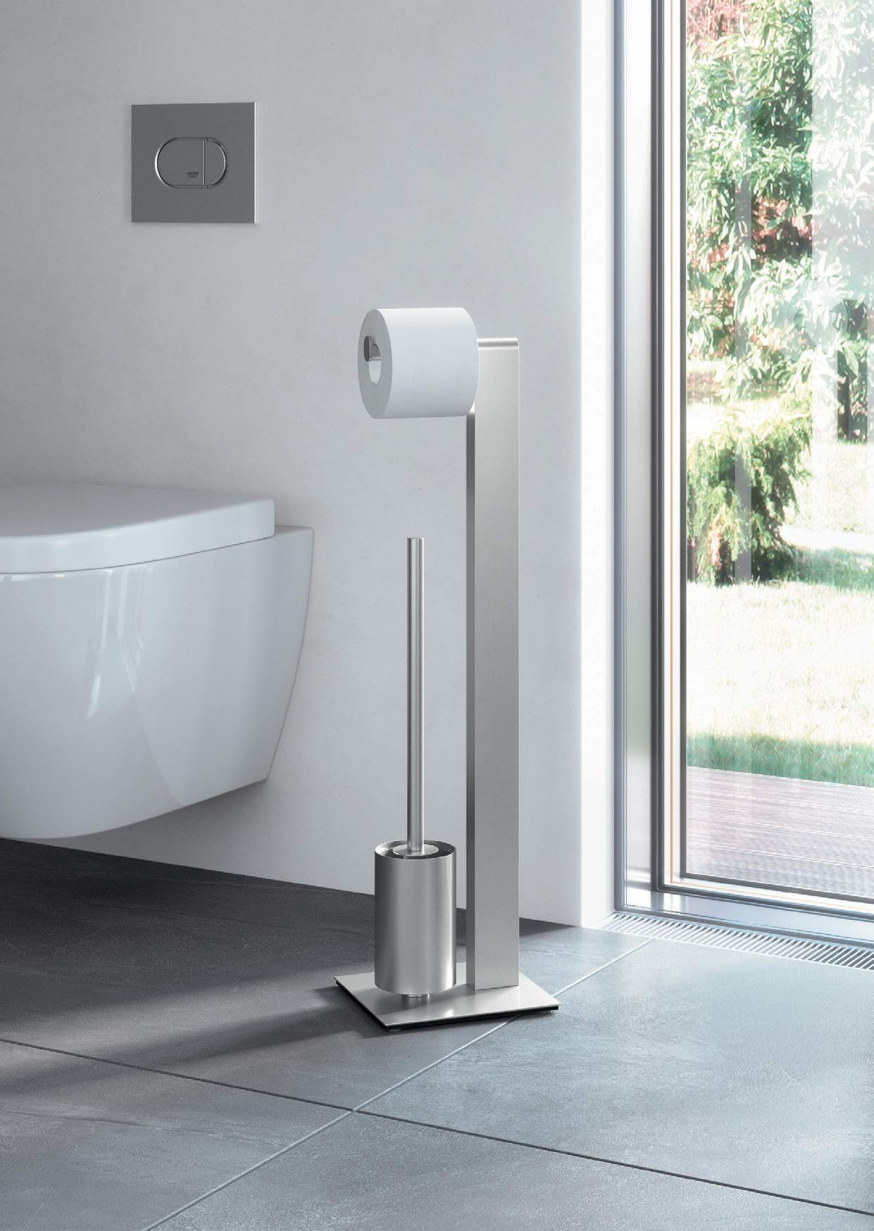 Modern ontworpen wc-butler van Zack.