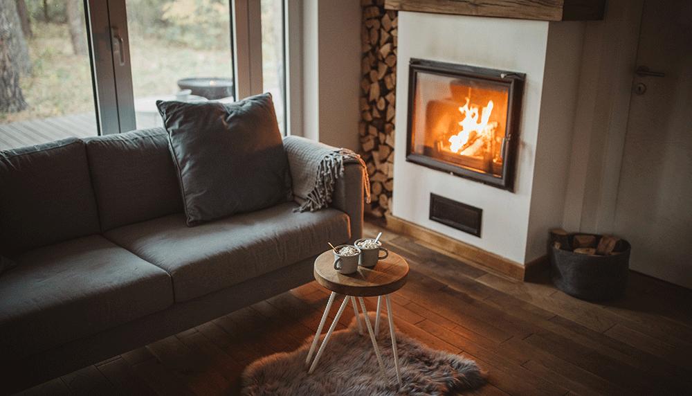 Berg haardhout goed op, zodat jij in de winter én in de zomer kunt genieten van een sfeervol vuurtje!