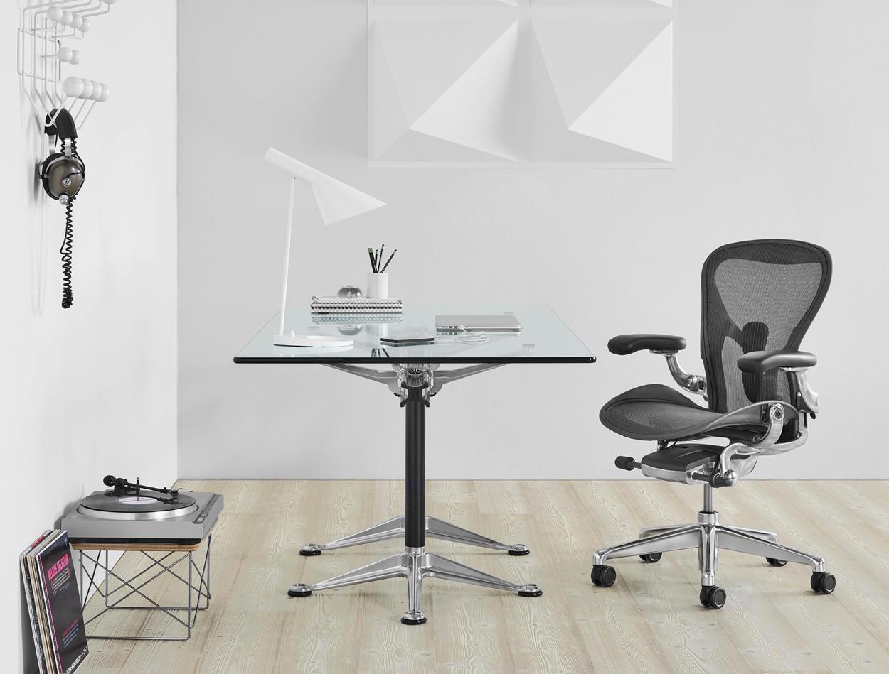 ZZP'er en werk je veel thuis? Deze Aeron-kantoorstoel van Herman Miller is perfect voor ieders thuiskantoor.