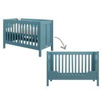 Bopita ledikant / bedbank Country vintage blue 60x120 cm Bopita ledikant / bedbank Country vintage blue 60x120 cm Wonen & slapen babykamer