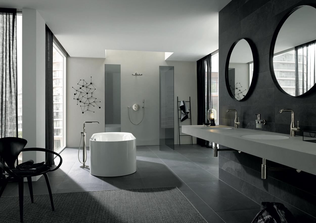 Badkameraccessoires in de kleur Supersteel geven jouw badkamer een stoer uiterlijk.