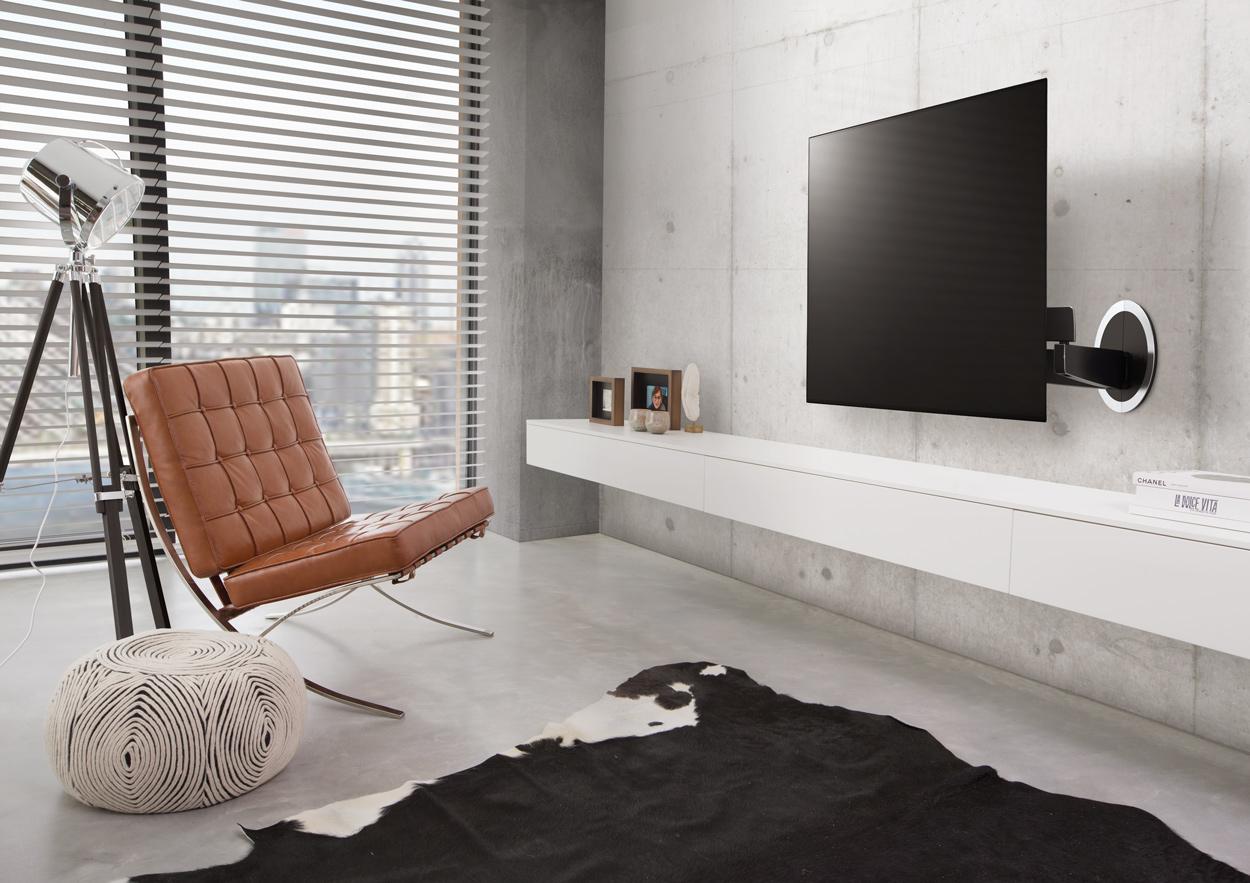 Design muurbeugel voor je televisie.