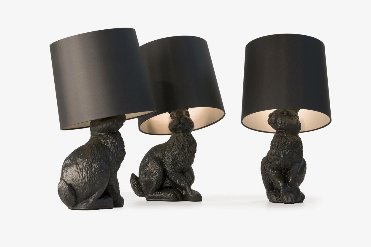 Rabbit tafellampen van Moooi.