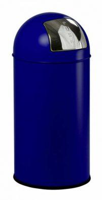 Pushcan 40 L Blauw-Woonaccessoires