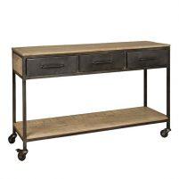 Sidetable w/n 3 laden 1 plank-Tafels