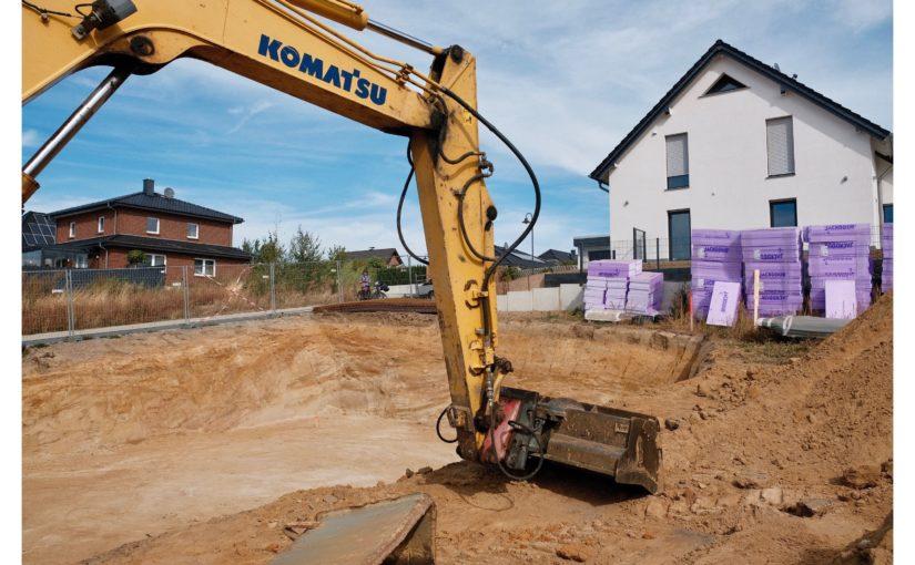 Tag 3: Die Baugrube steht