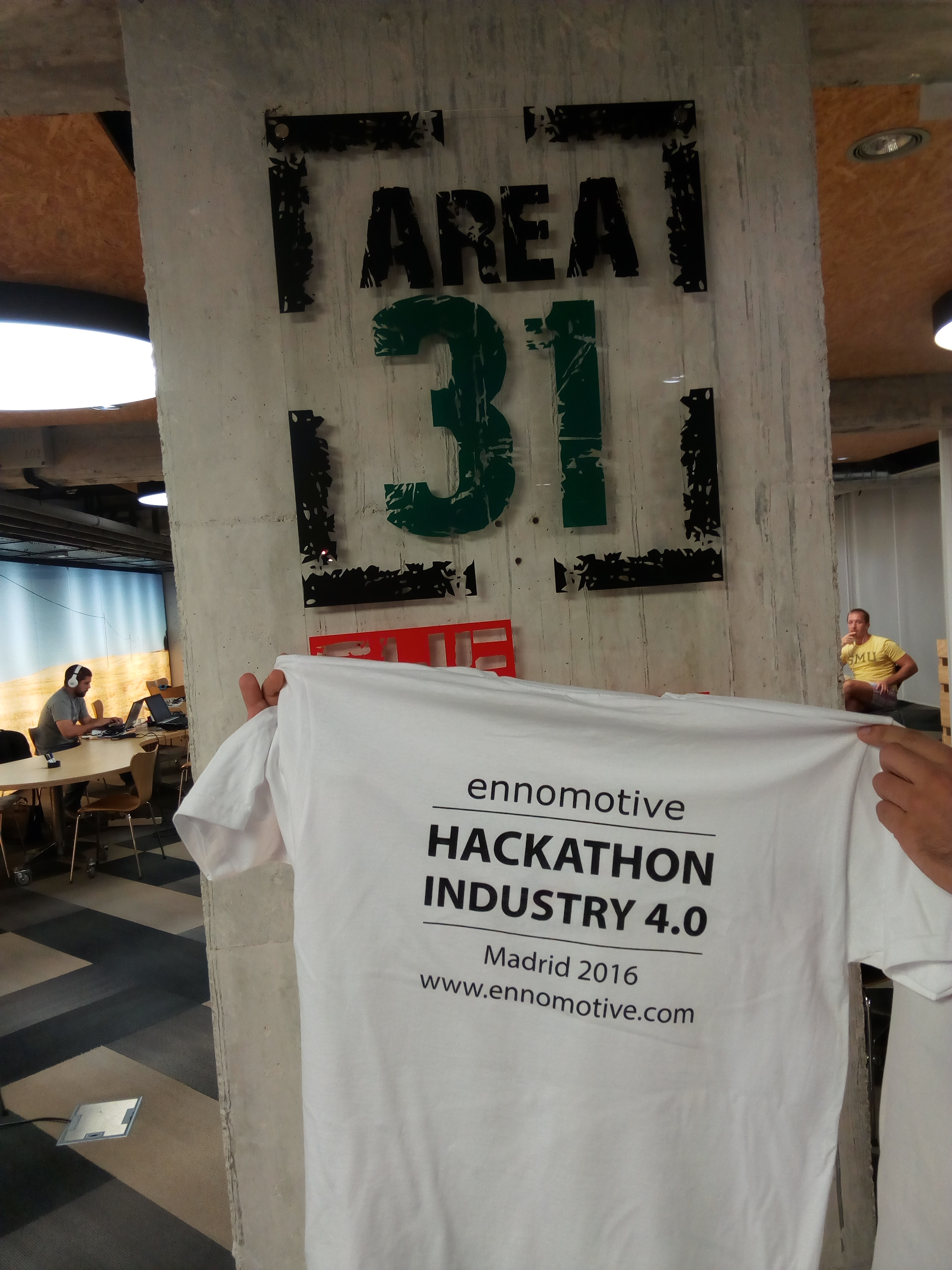 Hackindustry40 T-shirt