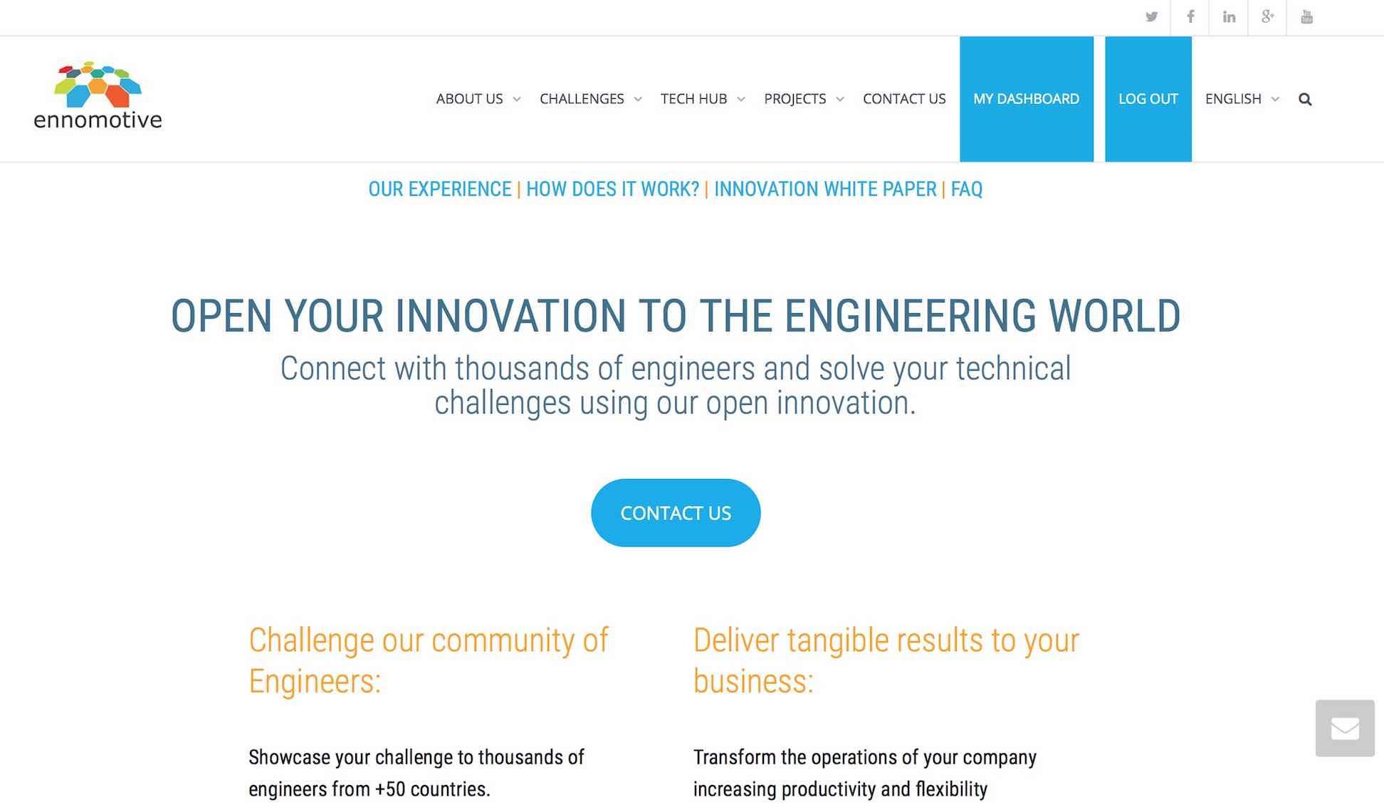 Solve Your Open Innovation Challenges - Ennomotive