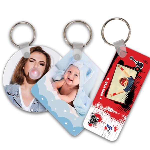 תמונה של מחזיק מפתחות מפלסטיק