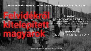 Felvidékről kitelepített magyarok - Horváth Attila előadása