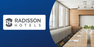 Radisson Hotel Group meeting room booking