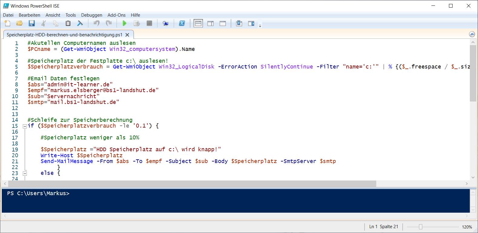 Windows PowerShell für Anfänger Der online Kurs