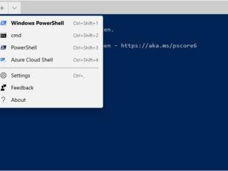 Das neue Windows Terminal - Ein Shell für alle