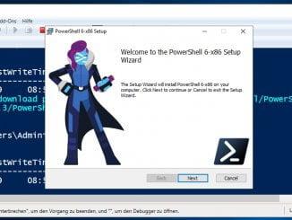 Die Windows PowerShell auf die neue Version 6 Core per Konsole updaten