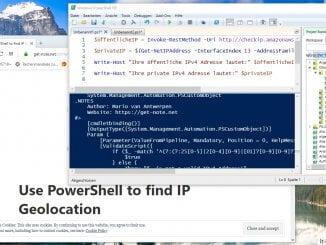 Mit der Windows Powershell die öffentliche IP Adresse auslesen