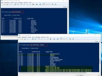Versteckte Dateien unter Windows mit dem Explorer oder der Windows PowerShell anzeigen