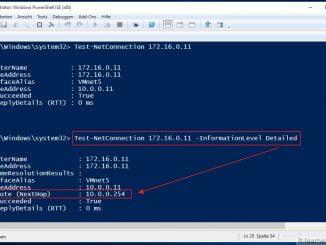 Mit der Windows PowerShell Netzwerkrouten prüfen und verfolgen