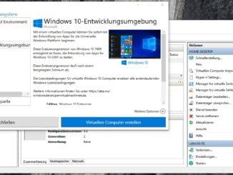 Installation von Hyper-V über die optionalen Features - Schnellerstellung - Installation von virtuellen Computern