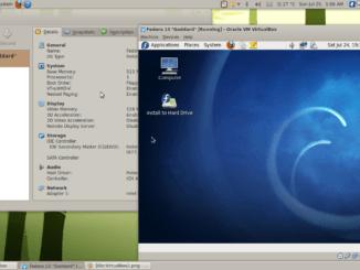 VirtualBox öffnet Windows als virtuelle Maschine auf dem Linux-Rechner Source: Wikimedia Licence: GNU Free Documentation License