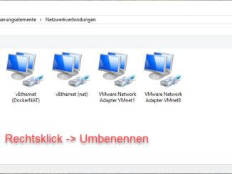 Den Netzwerkadapter Und Windows Umbenennen
