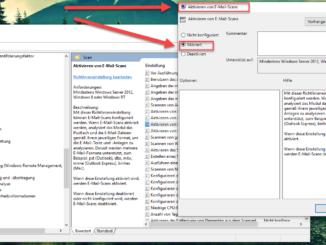Windows Defender Emails Scannen Aktivieren