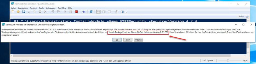 Ein Neues Windows PowerShell Modul Installieren