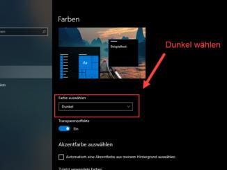 Windows 10 Dark Mode Einstellen