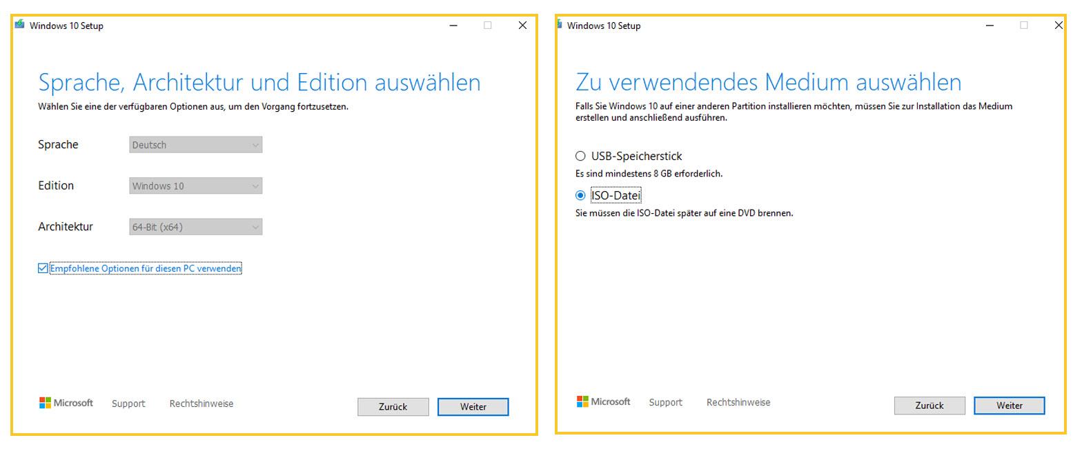 Windows Media Creation Tool Downloaden Und Installieren ISO Image Erstellen 2