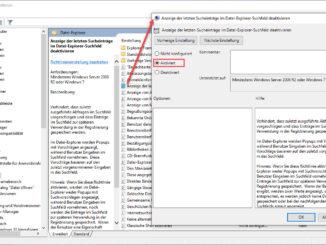 Windows Websuche Im Startmenü Per Gruppenrichtlinie Deaktivieren