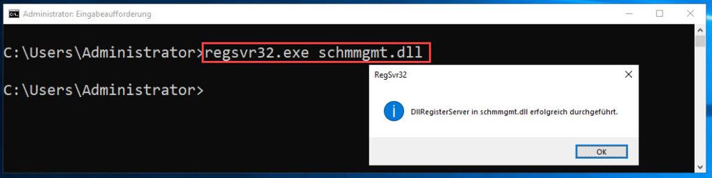 Active Directory Schema Bibliothek Hinzufügen Und Anzeigen Lassen
