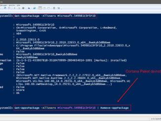 Den Sprachassistent Cortana Unter Windows 10 Komplett Deinstallieren