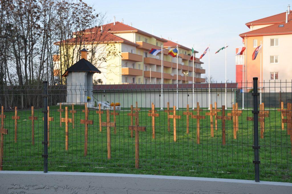 A dunaszerdahelyi első világháborús hadifogoly-temető