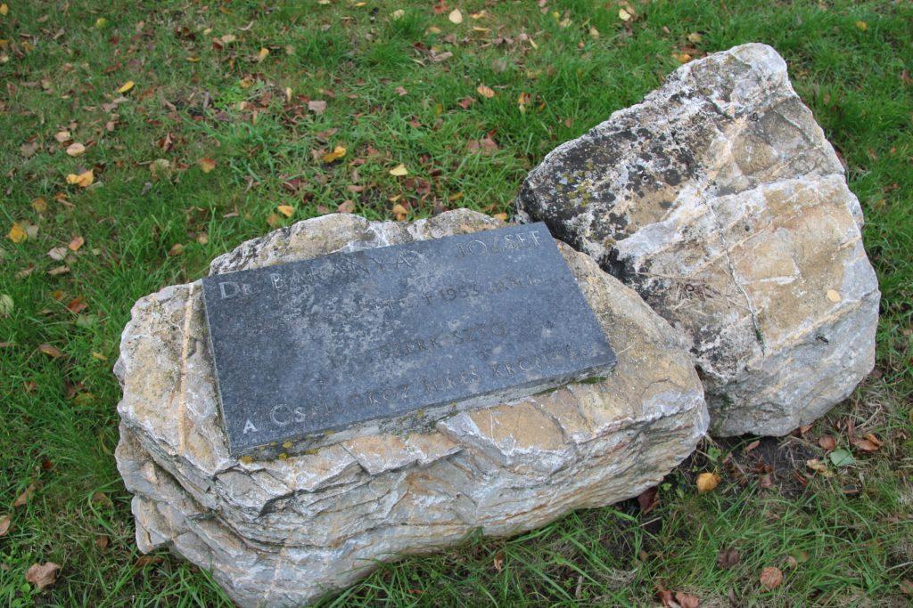 Baranyai József emléktáblája