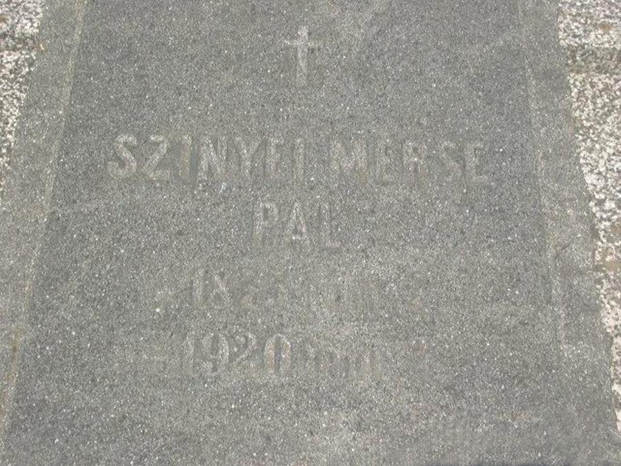 Szinyei Merse Pál sírja Jernyén