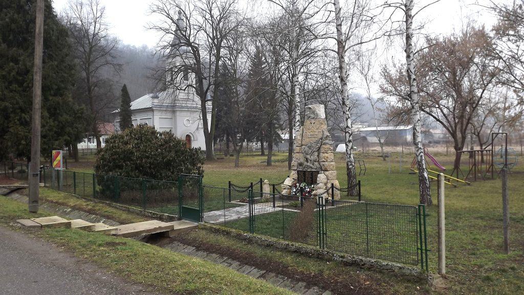 Az I. világháborúban elesettek emlékműve