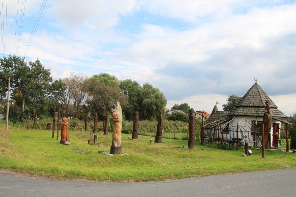 Hét Vezér szoborpark, Búvár Kund szobra