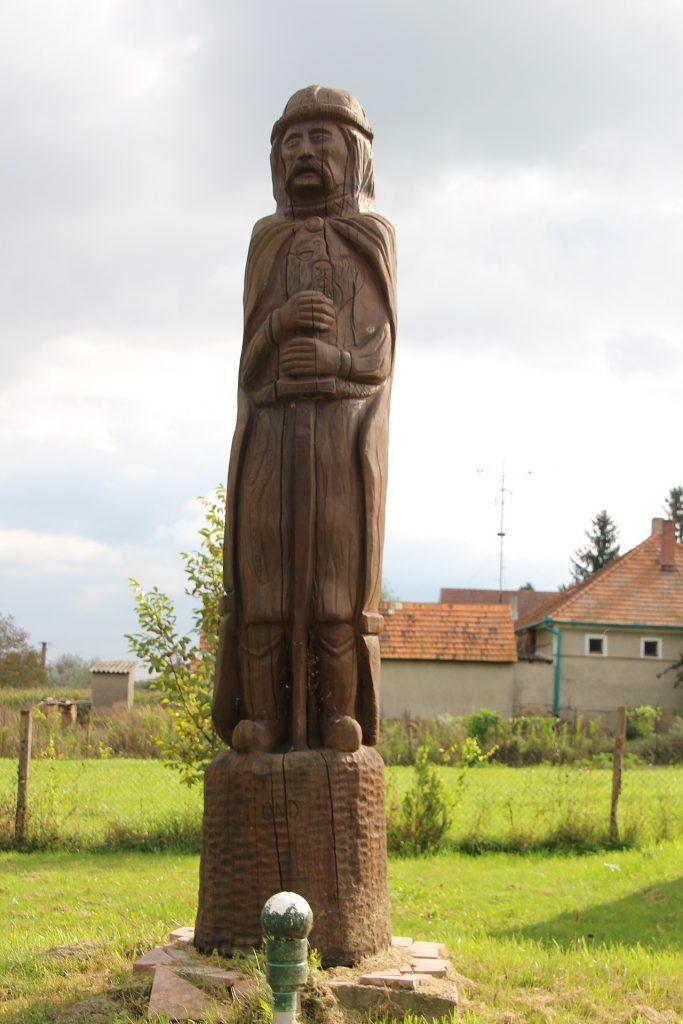 Hét Vezér szoborpark, Ond vezér szobra