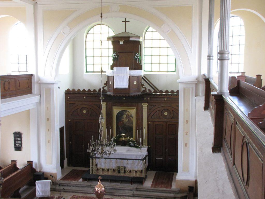 Alsószeli evangélikus templom