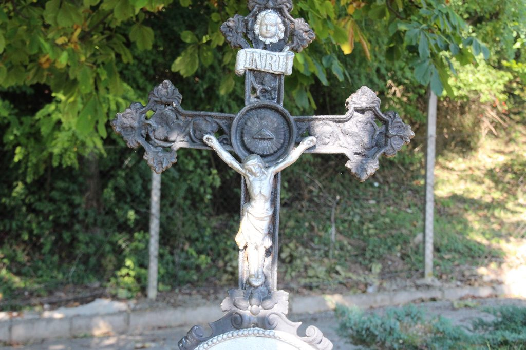 Ruber Alajos római katolikus tanító sírja