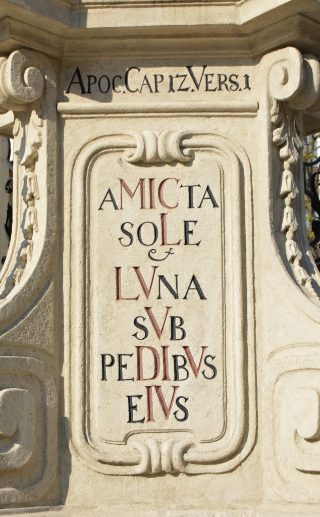 Immaculata oszlop